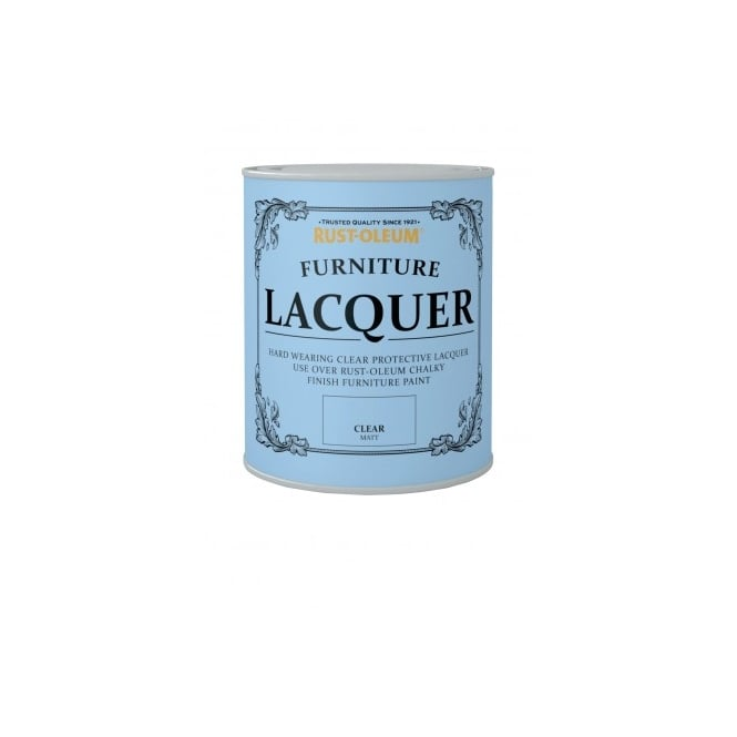 Rust-Oleum  Furniture Lacquer Clear Matt 750ml
